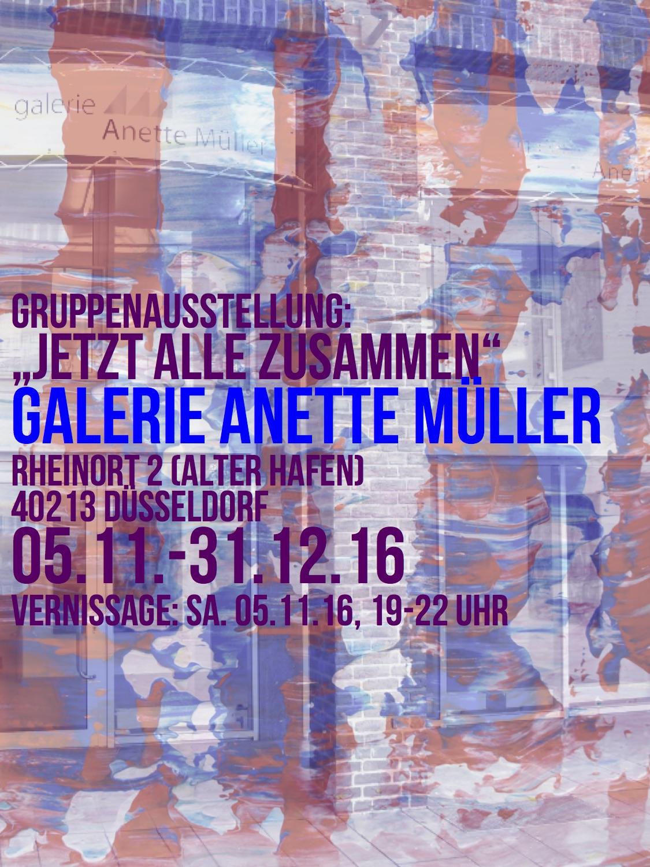 Galerie Anette Müller – Ausstellung Kunst – Düsseldorf