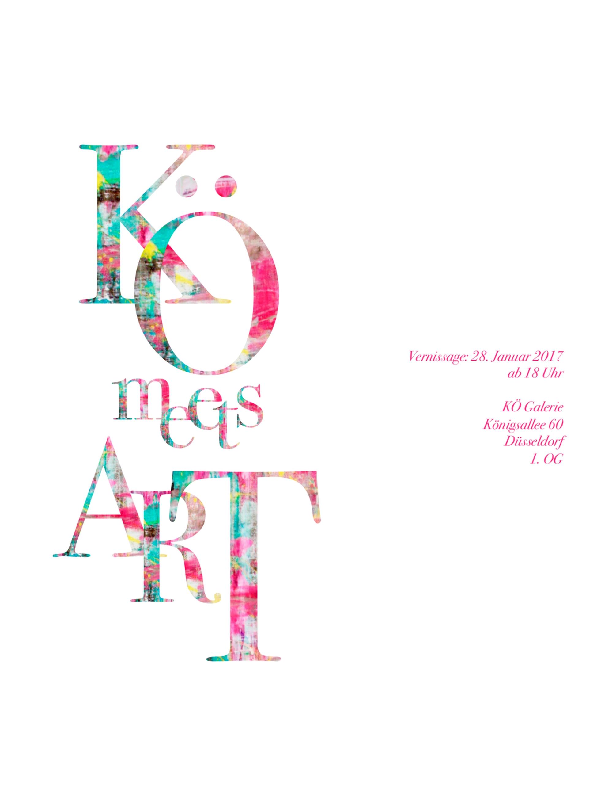 KÖ meets ARt Düsseldorf 2017 Theresa Kallrath