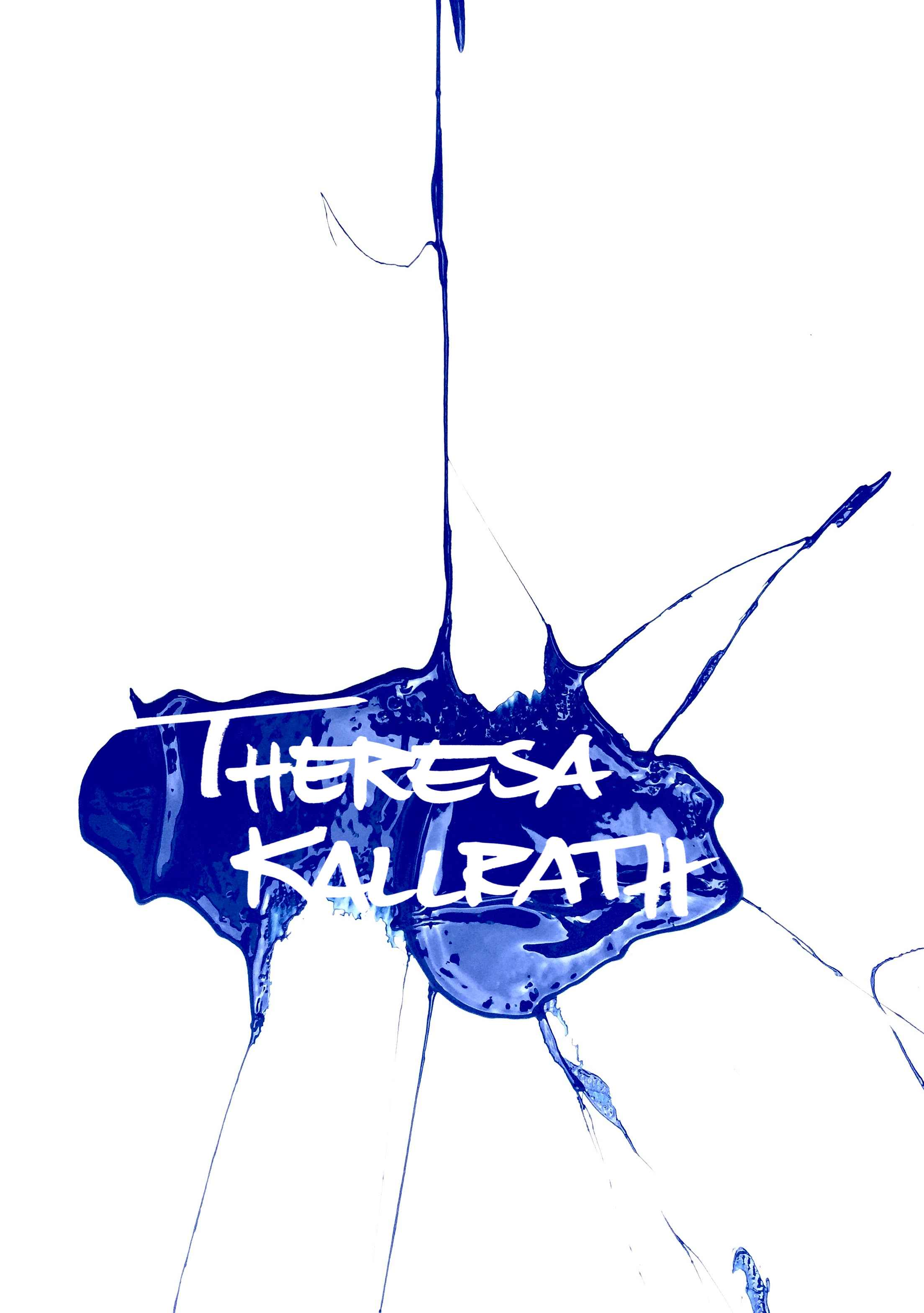 THERESA KALLRATH DÜSSELDORF 2016 ARTIST BLUE SPASH