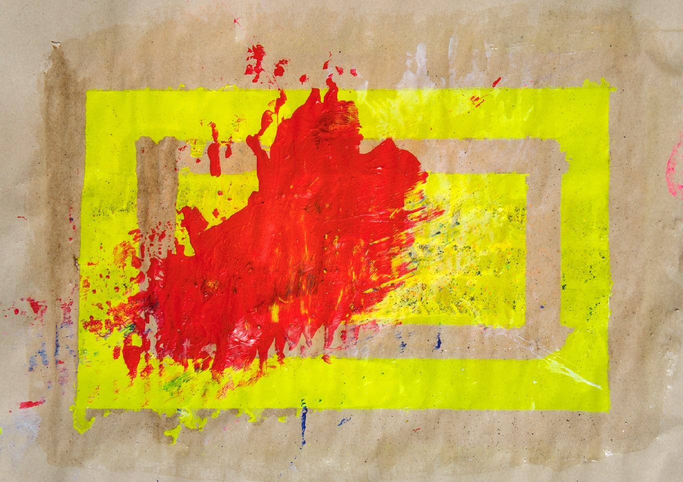 Sommer 2015 Theresa Kallrath KALLART Kunstakademie Düsseldorf 2015 ART Abstract ART Abstracte Kunst Modern Funky NEON LOVE PEACE 13