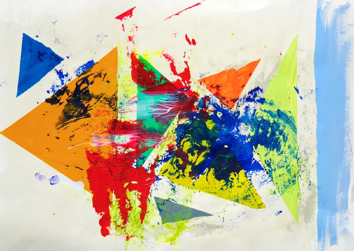 Sommer 2015 Theresa Kallrath KALLART Kunstakademie Düsseldorf 2015 ART Abstract ART Abstracte Kunst Modern Funky NEON LOVE PEACE 14