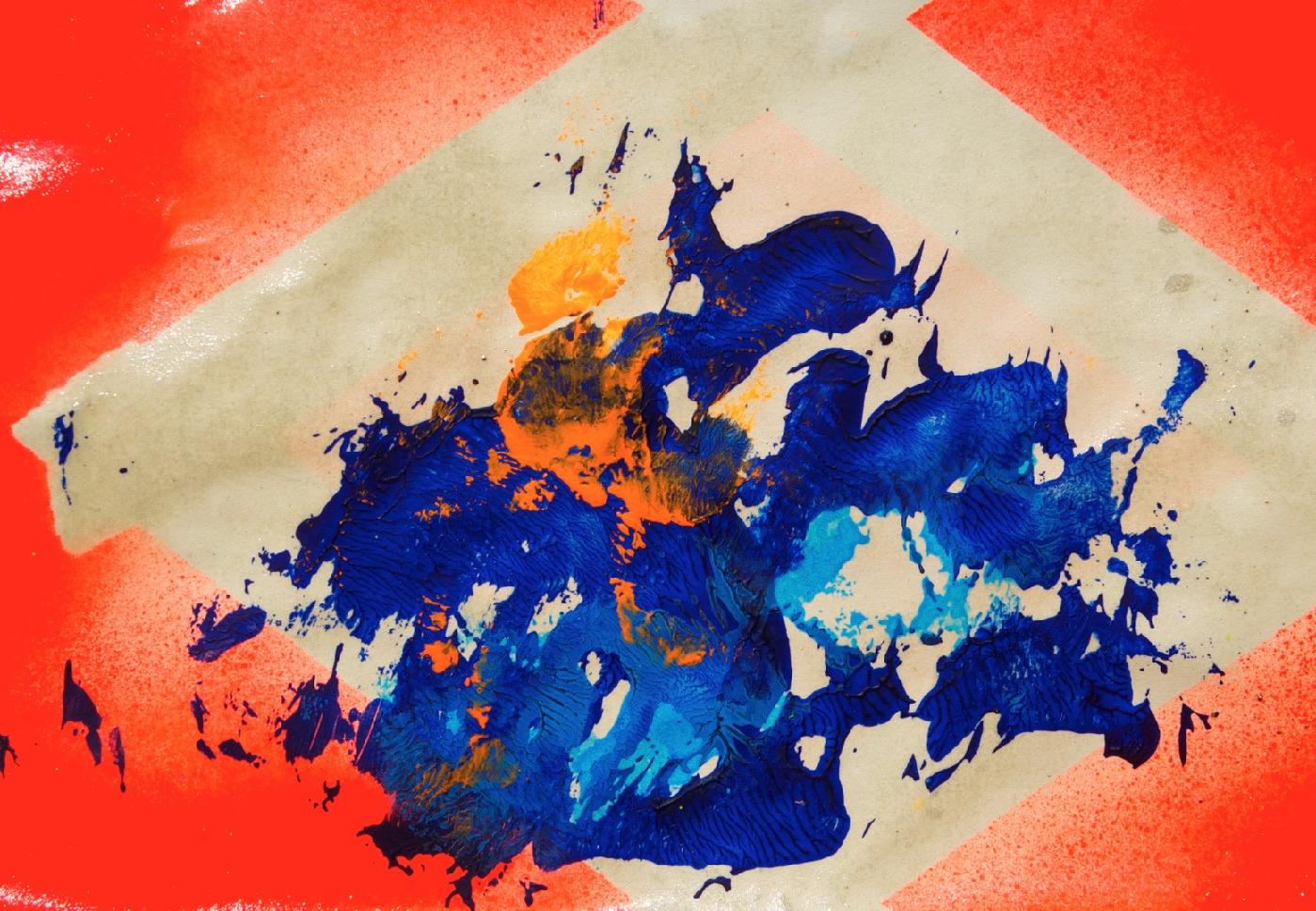 Sommer 2015 Theresa Kallrath KALLART Kunstakademie Düsseldorf 2015 ART Abstract ART Abstracte Kunst Modern Funky NEON LOVE PEACE 2