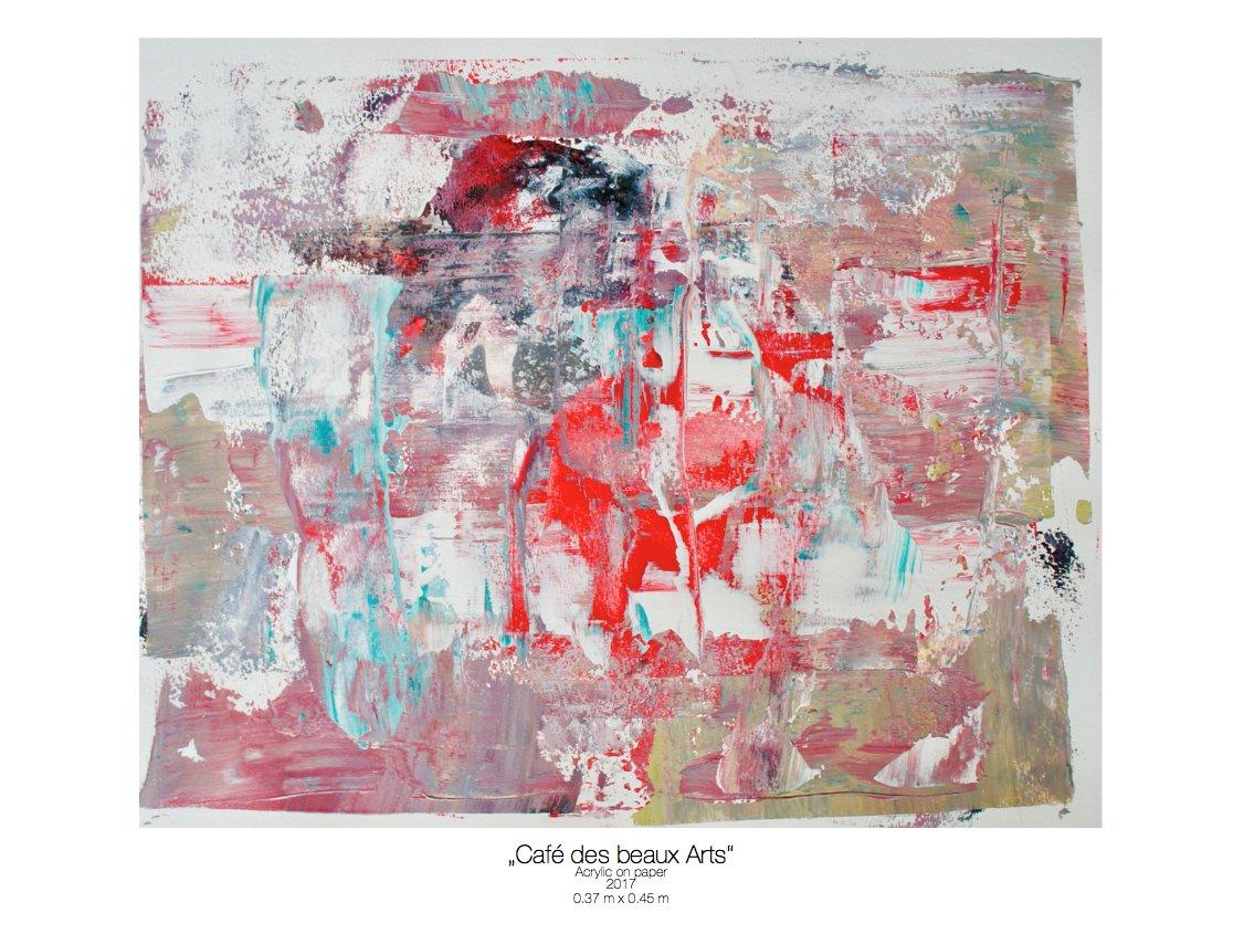 Theresa Kallrath_Cafe des beaux Arts_beaux art paris_2017