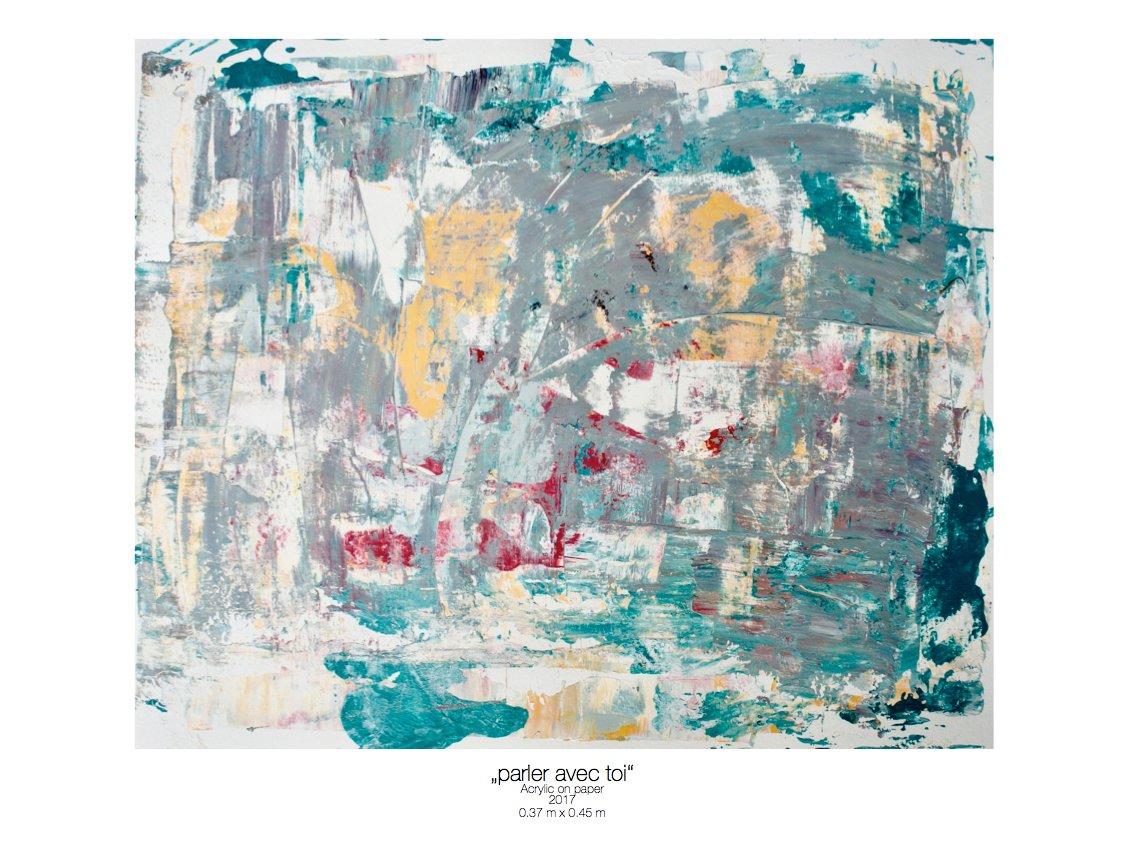 Theresa Kallrath_parler avec toi_beaux art paris_2017