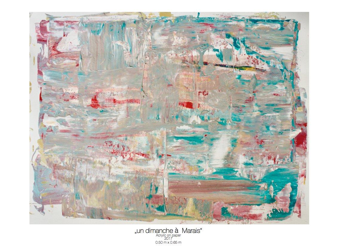 Theresa Kallrath_un dimanche a Marais_beaux art paris_2017