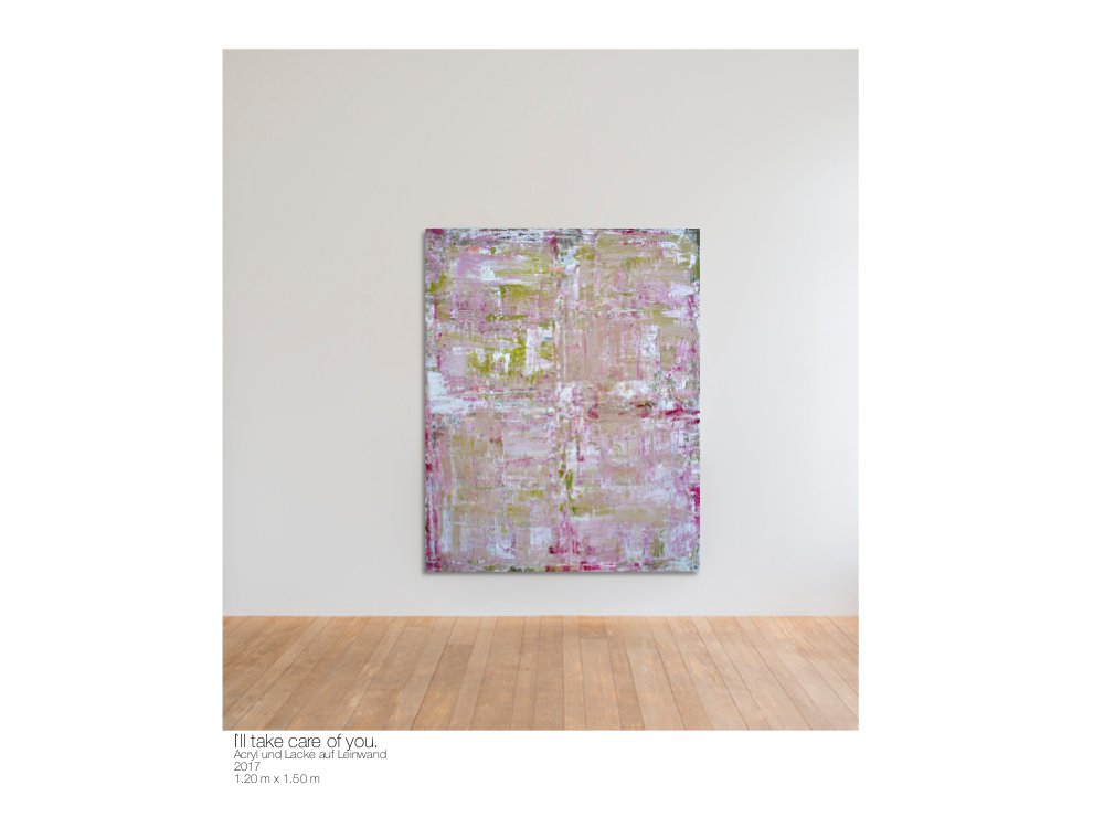 Theresa Kallrath Showroom Artist from Düsseldorf Abstract Painting Scandinavian Modern Art 1 KallART 7