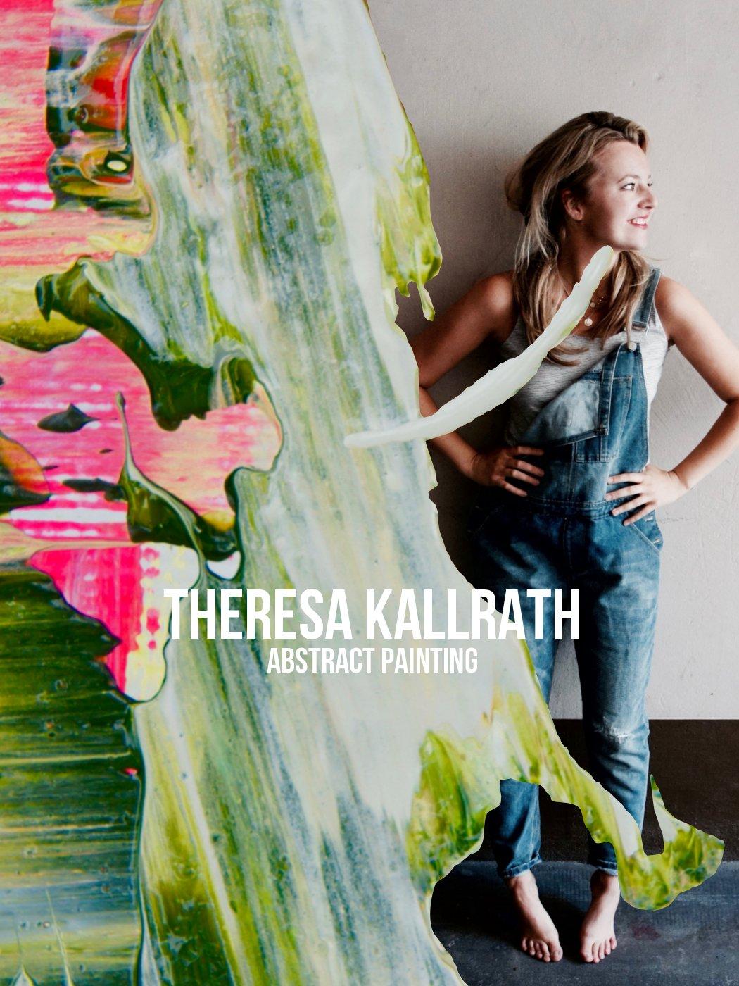 Openball Oberkassel Düsseldorf Theresa Kallrath Artist Kunstakademie Star Abstract Painting