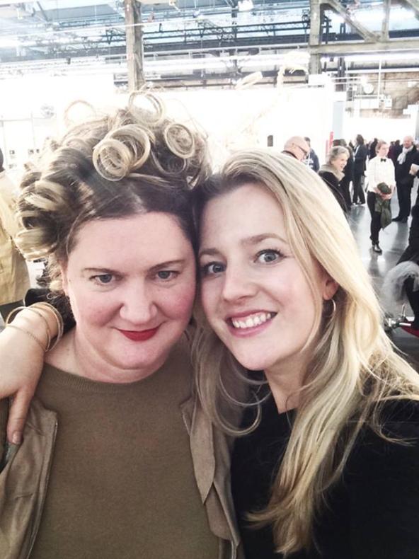 Rhea Standke und Theresa Kallrath