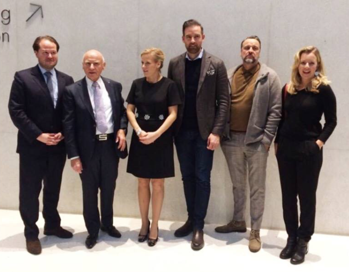 Johannes Wagner, Dieter Sieger, Anna Wagner, Christoph Metzelder, Carsten Sander und Theresa Kallrath