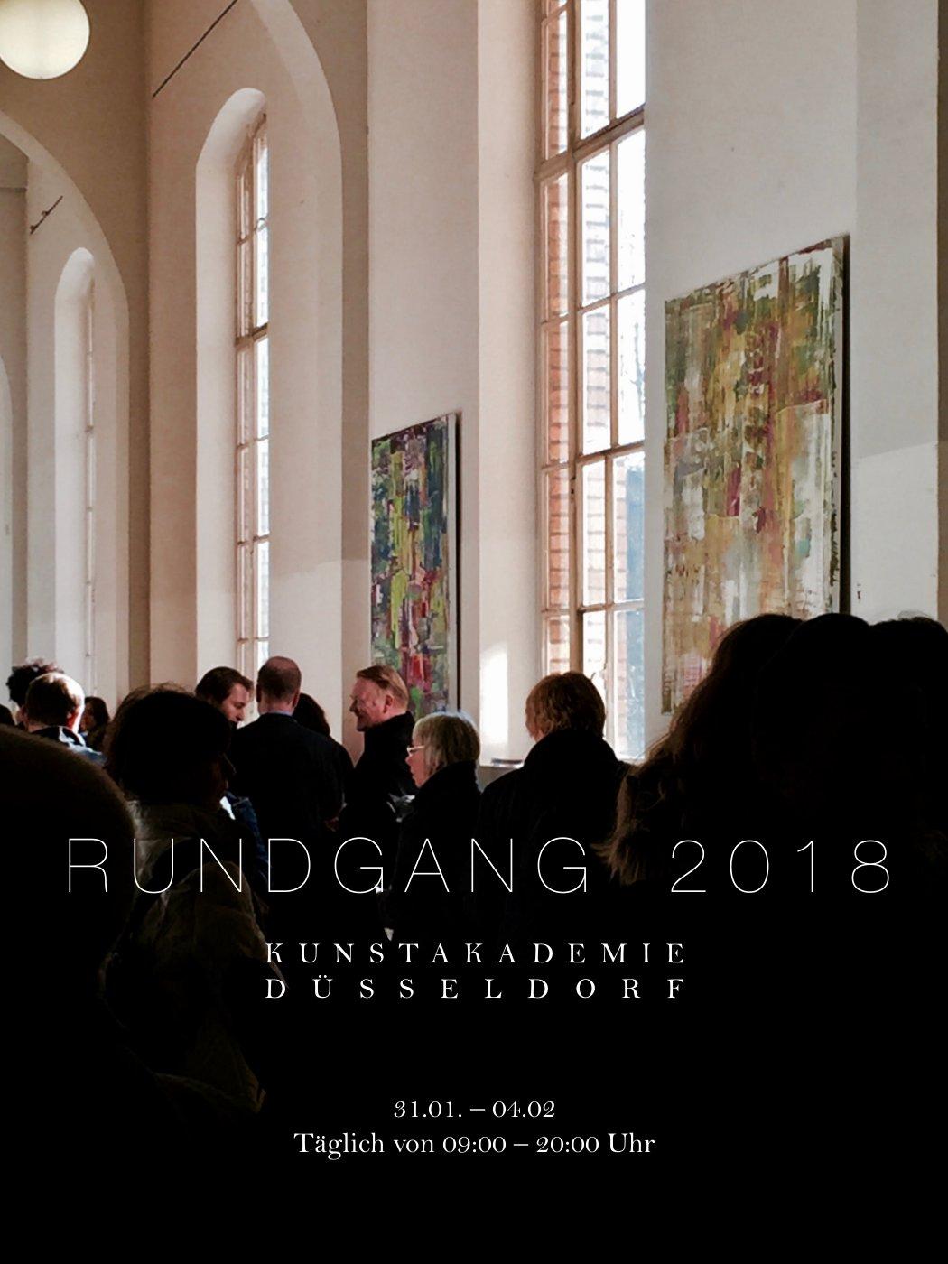 Rundgang 2018 Kunstakademie Düsseldorf