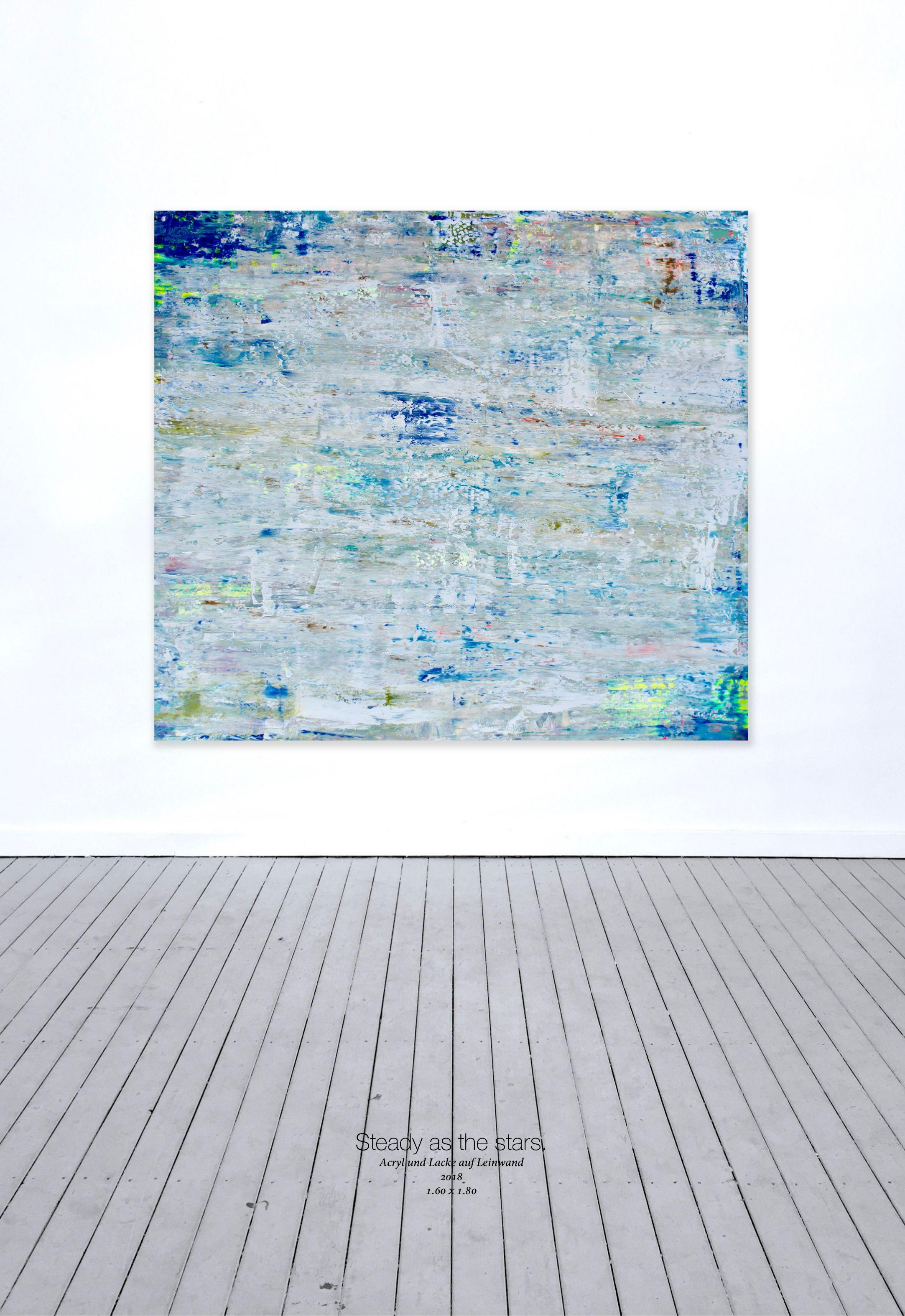 THERESA KALLRATH BEAUX ART PARIS KUNSTAKADEMIE DÜSSELDORF ARTIST ABSTRAKT RUNDGANG 2018 WALL