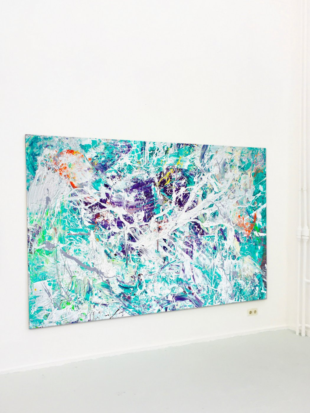 Kunstakademie Düsseldorf Artist Theresa Kallrath Abstrakt Kunst Art