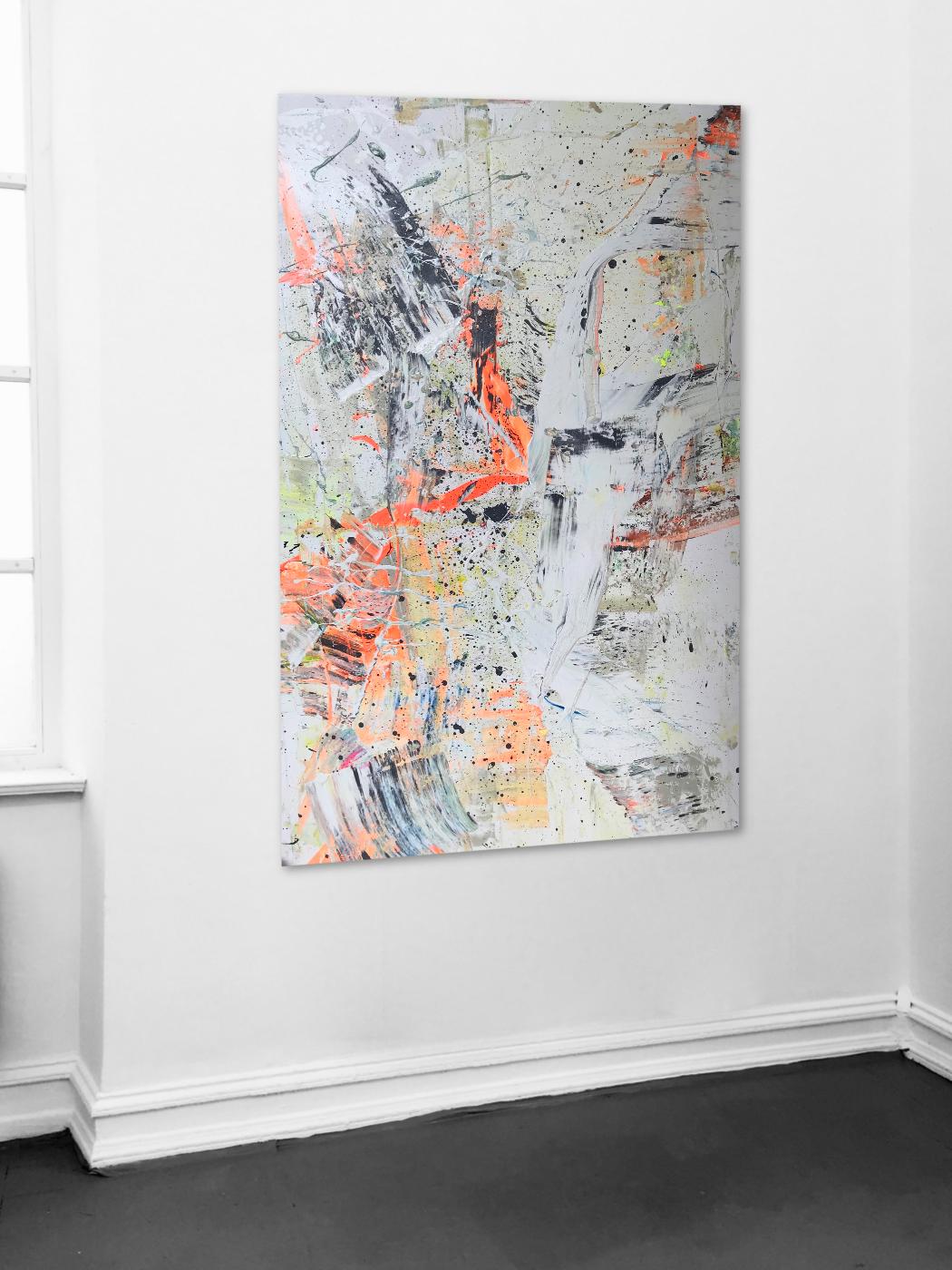 Theresa Kallrath Abstrakt Painting Düsseldorf Paris