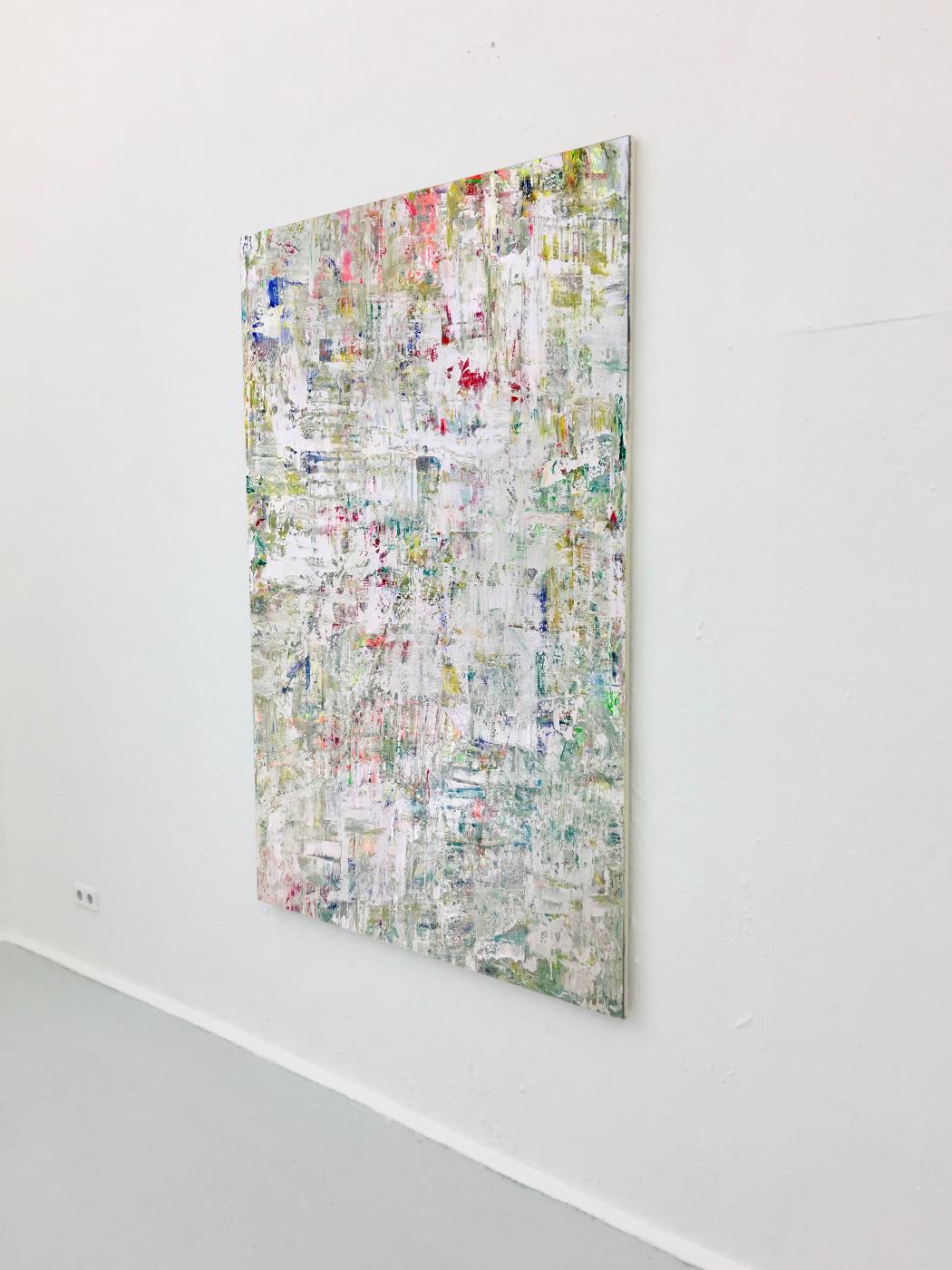 Theresa Kallrath Abstrakt Painting Düsseldorf Showroom