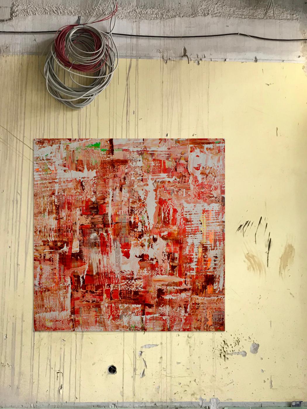 Theresa Kallrath Abstrakt Painting Düsseldorf