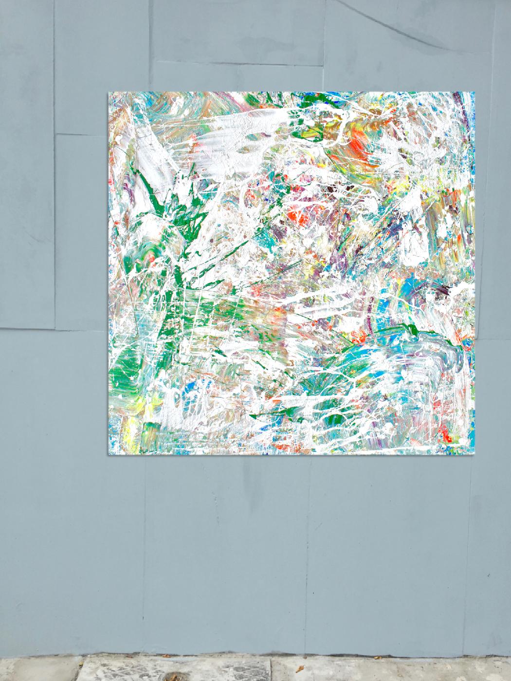 Theresa Kallrath Canvas Düsseldorf Painting Abstrakt Kunstakdamdemie