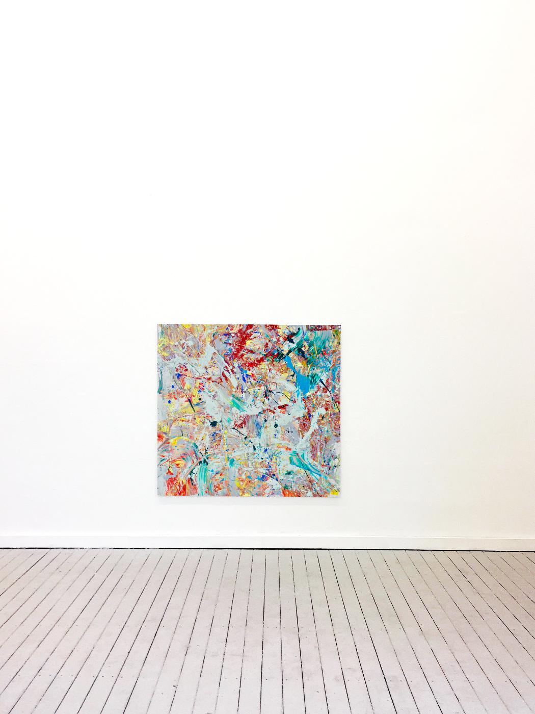 Theresa Kallrath Canvas Düsseldorf Painting Abstrakt Paris