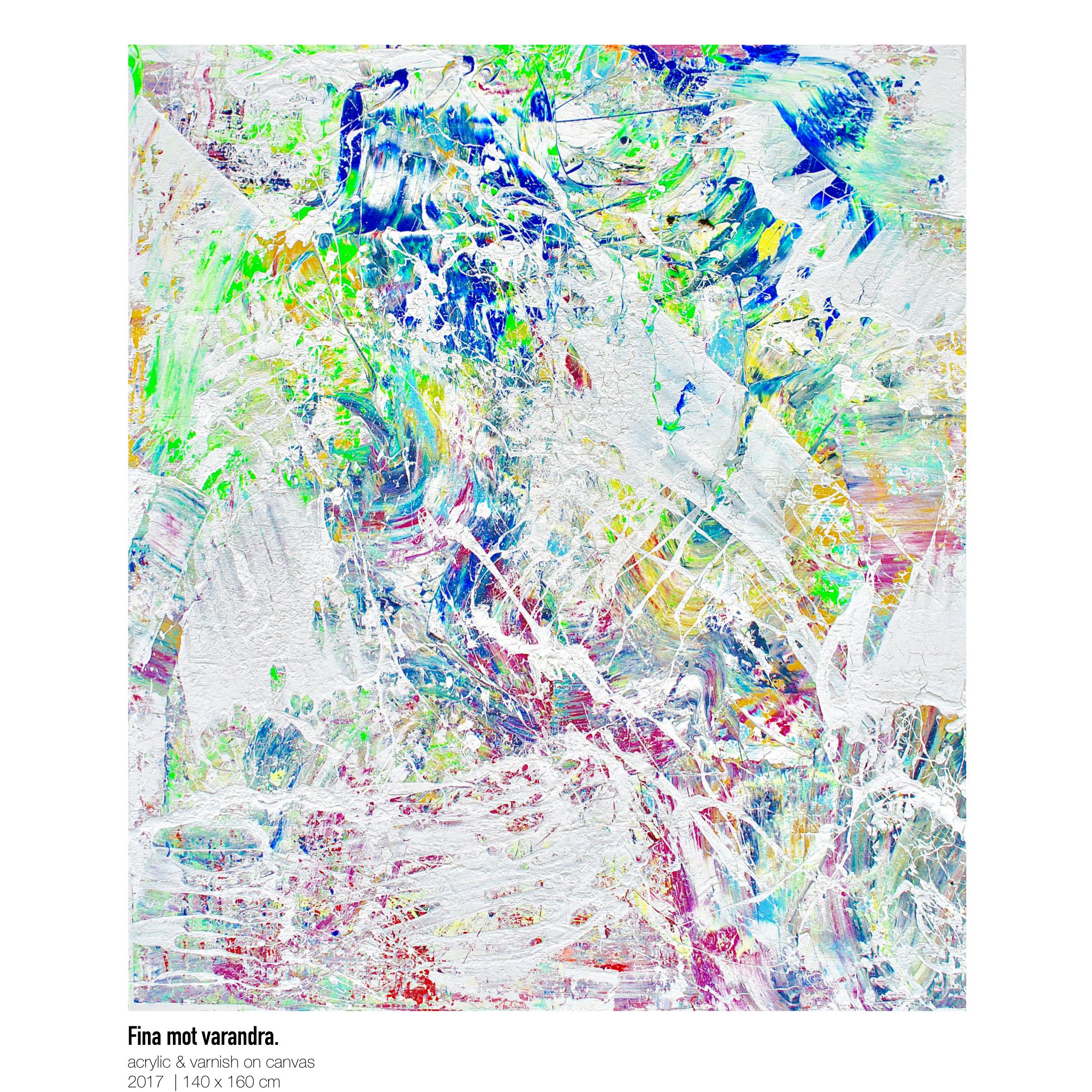 Theresa Kallrath-Canvas-Fina mot varandra