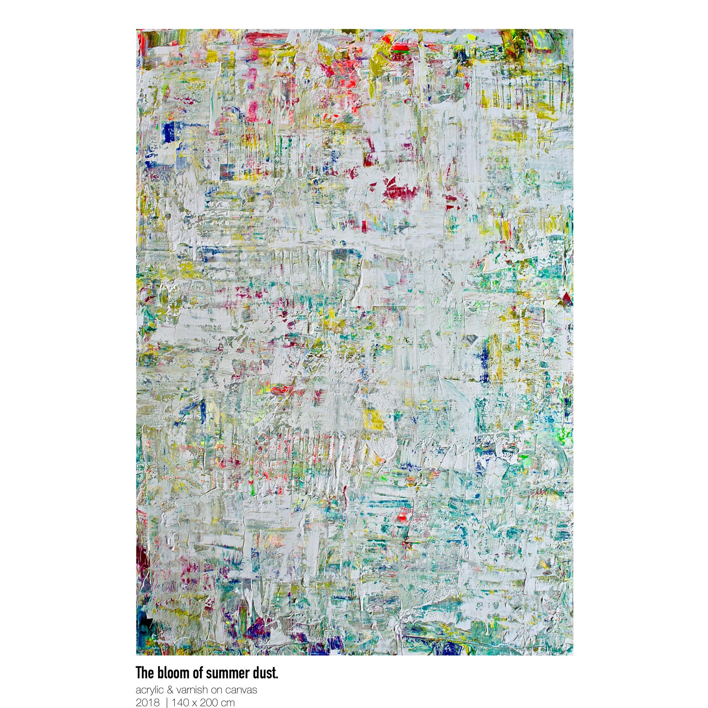 Theresa Kallrath-Canvas-The bloom of summer dust