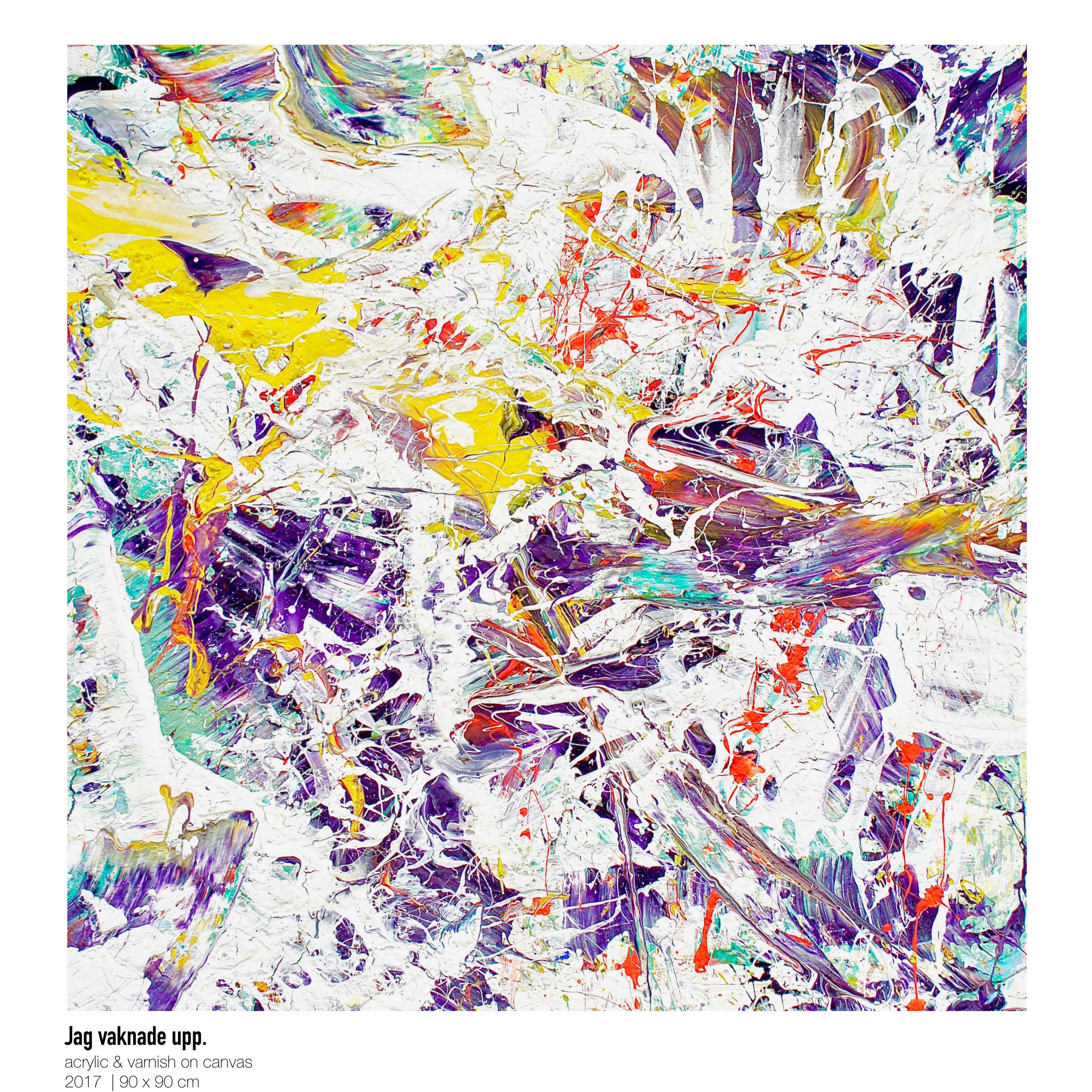 Theresa Kallrath-Canvas-jag vaknade upp