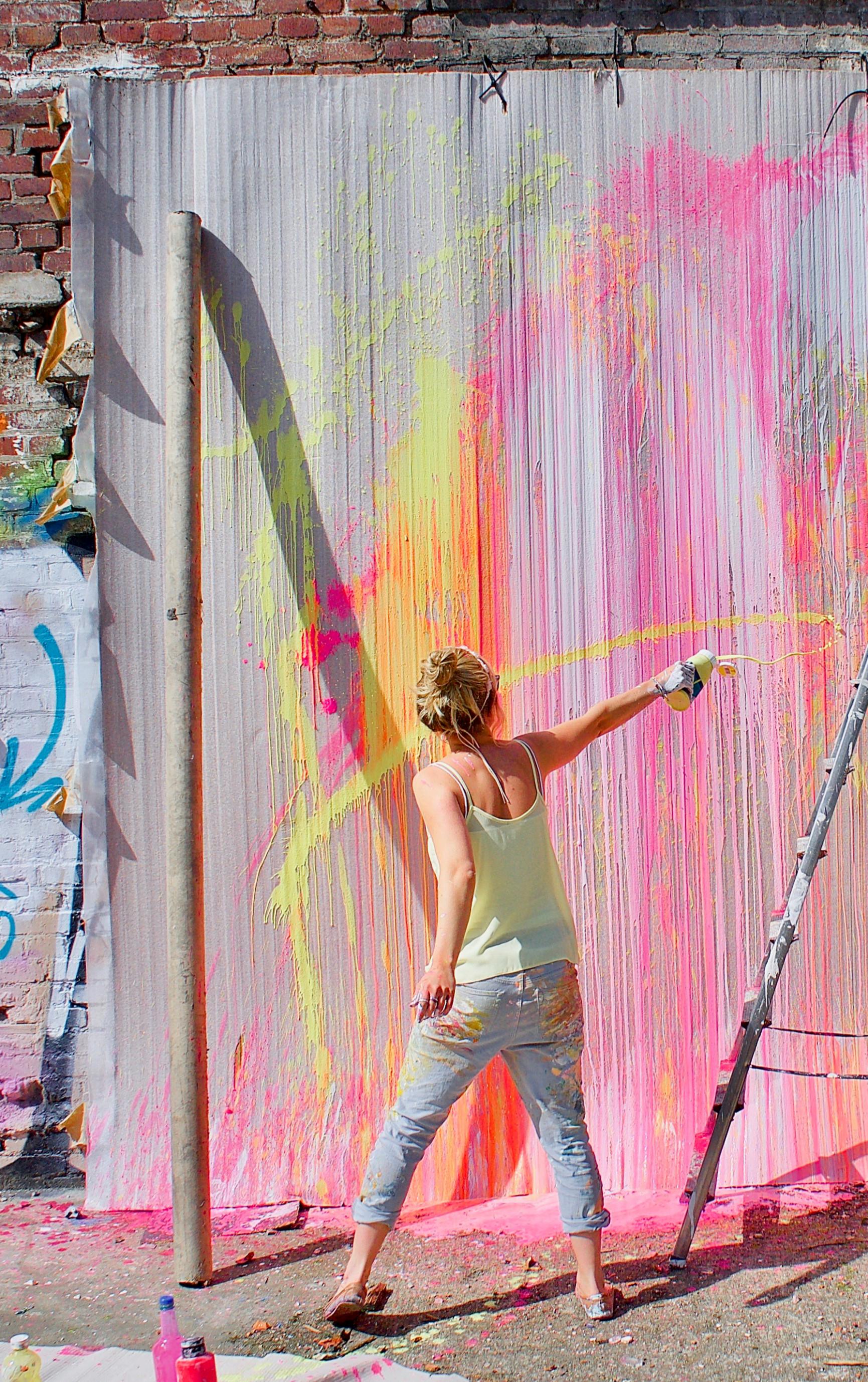 THERESA KALLRATH Abstract Painting Contemporaryart