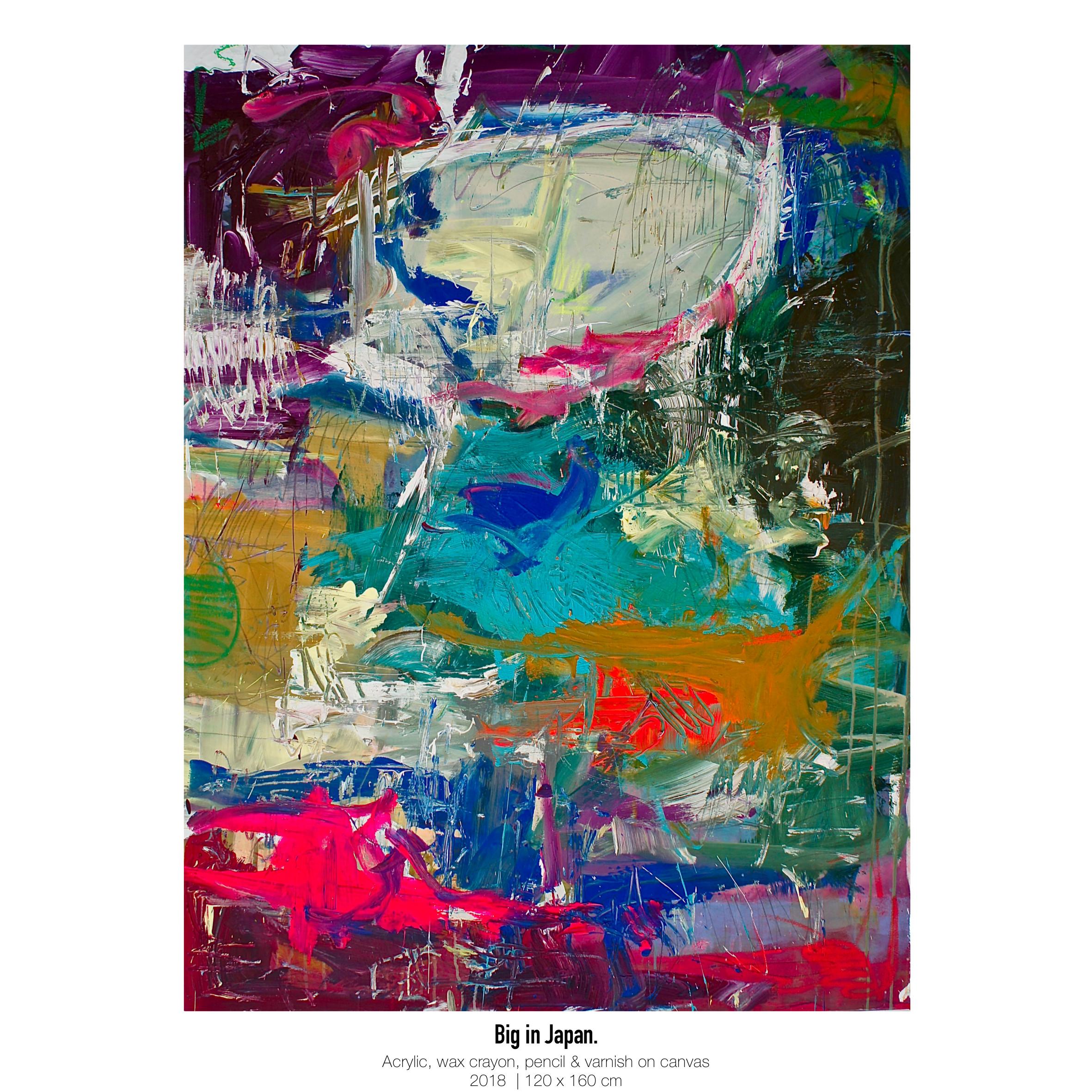 Theresa Kallrath Kallart_Big in Japan_Artist_Art_Contemporary Art