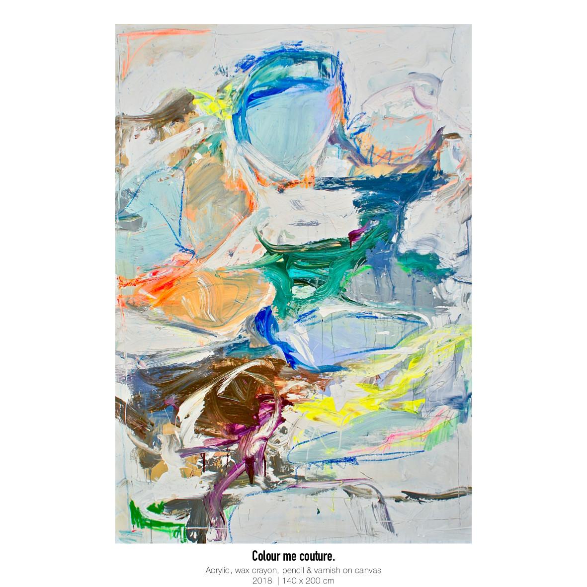 Theresa Kallrath Kallart_Colour me couture_Artist_Art_Contemporary Art