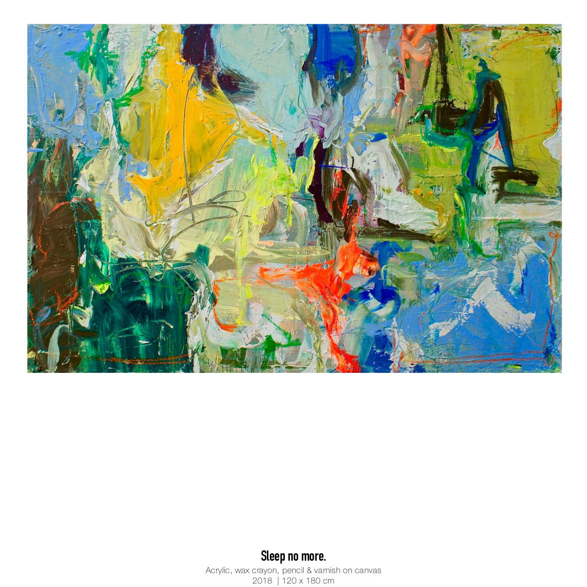 Theresa Kallrath Kallart_Sleep no more_Art_Contemporary Art