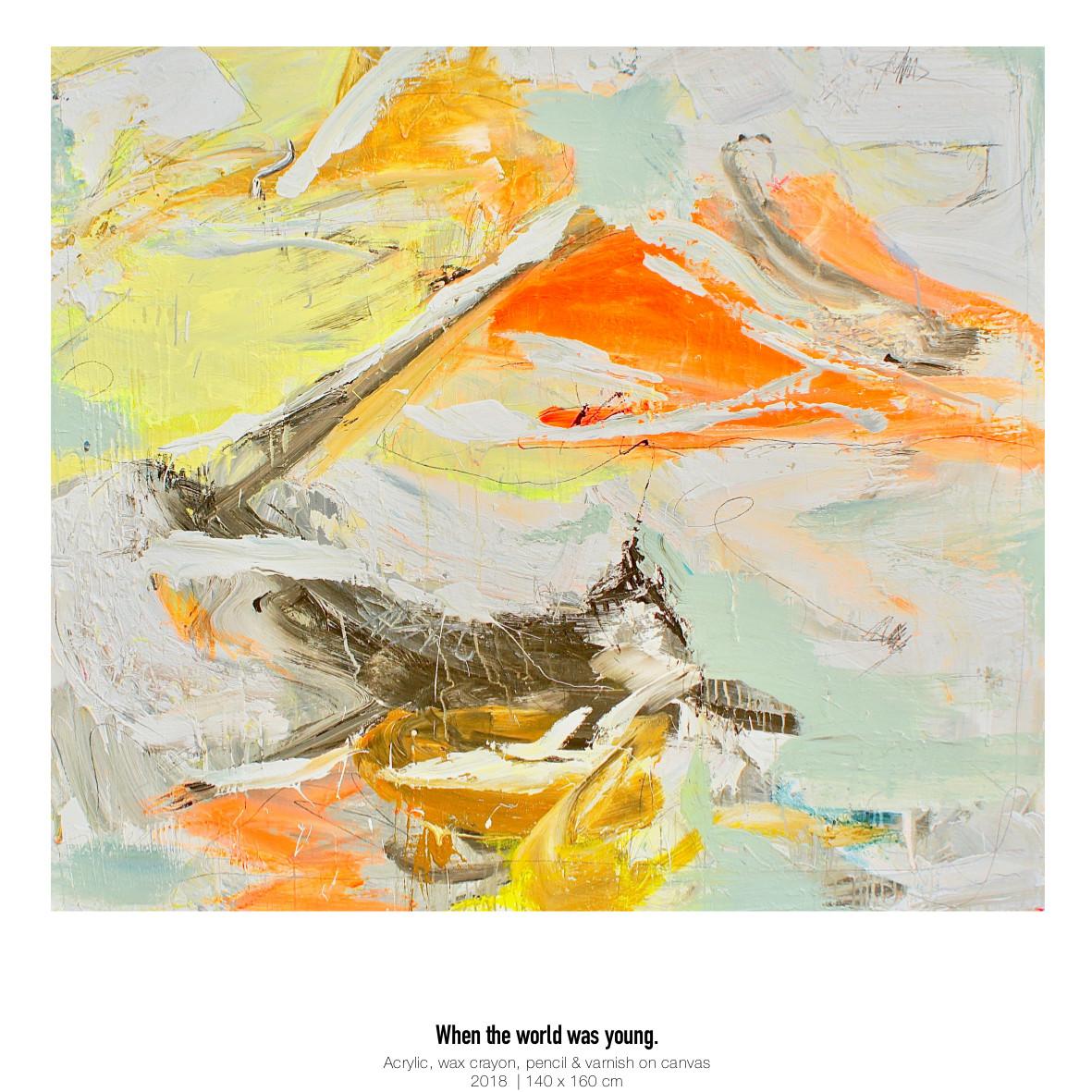 Theresa Kallrath Kallart_When the world was young_Artist_Art_Contemporary Art