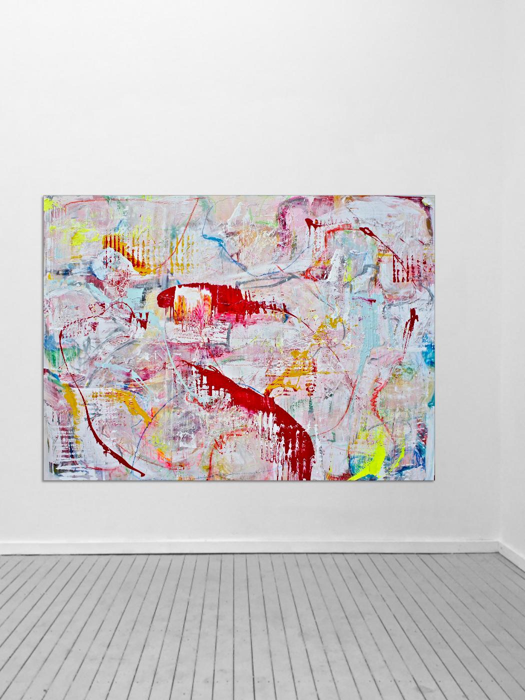 THERESA KALLRATH ARTIST CANVAS CONTEMPORARY ARTIST