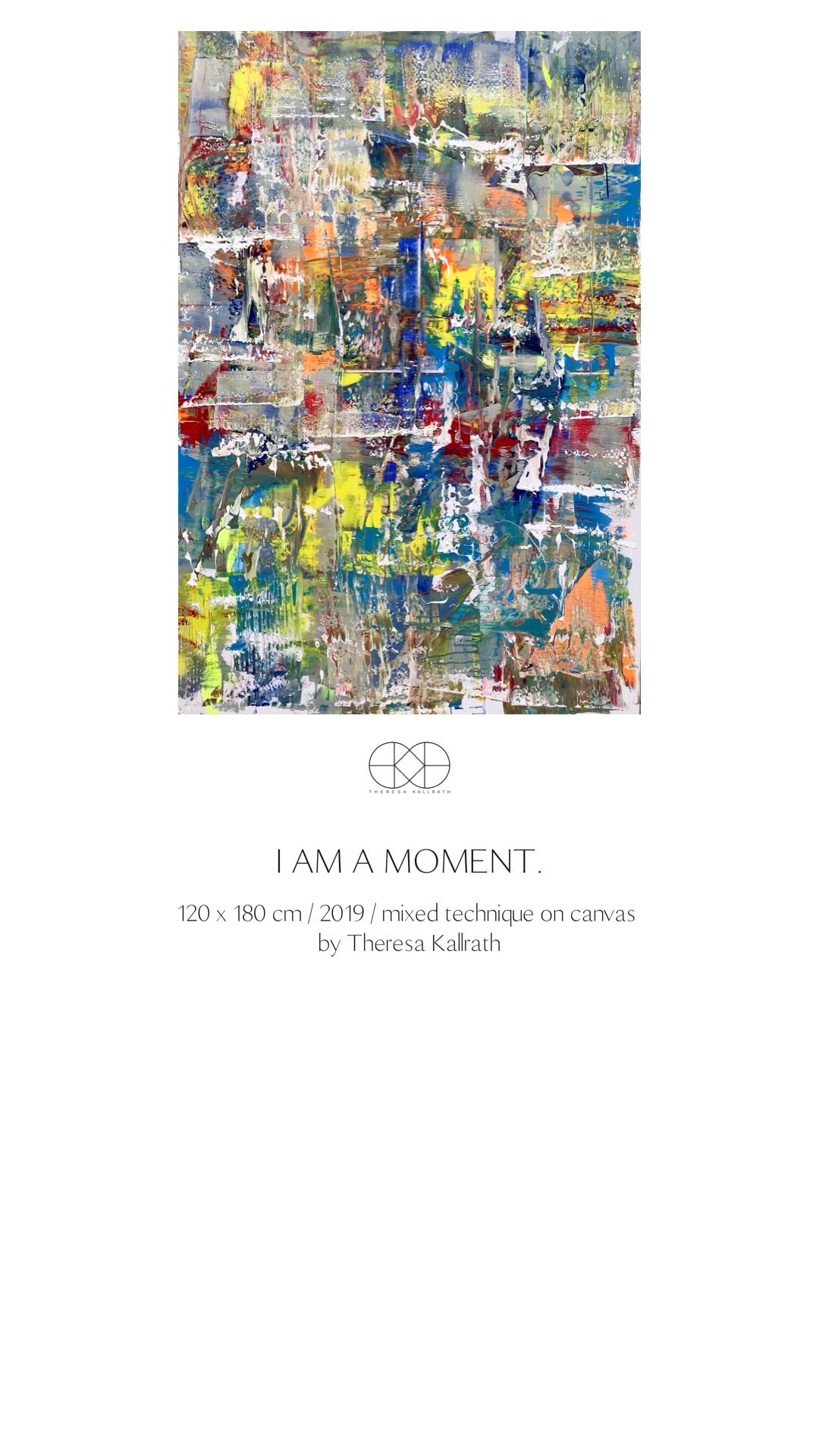 Theresa Kallrath_Iam a moment_2019