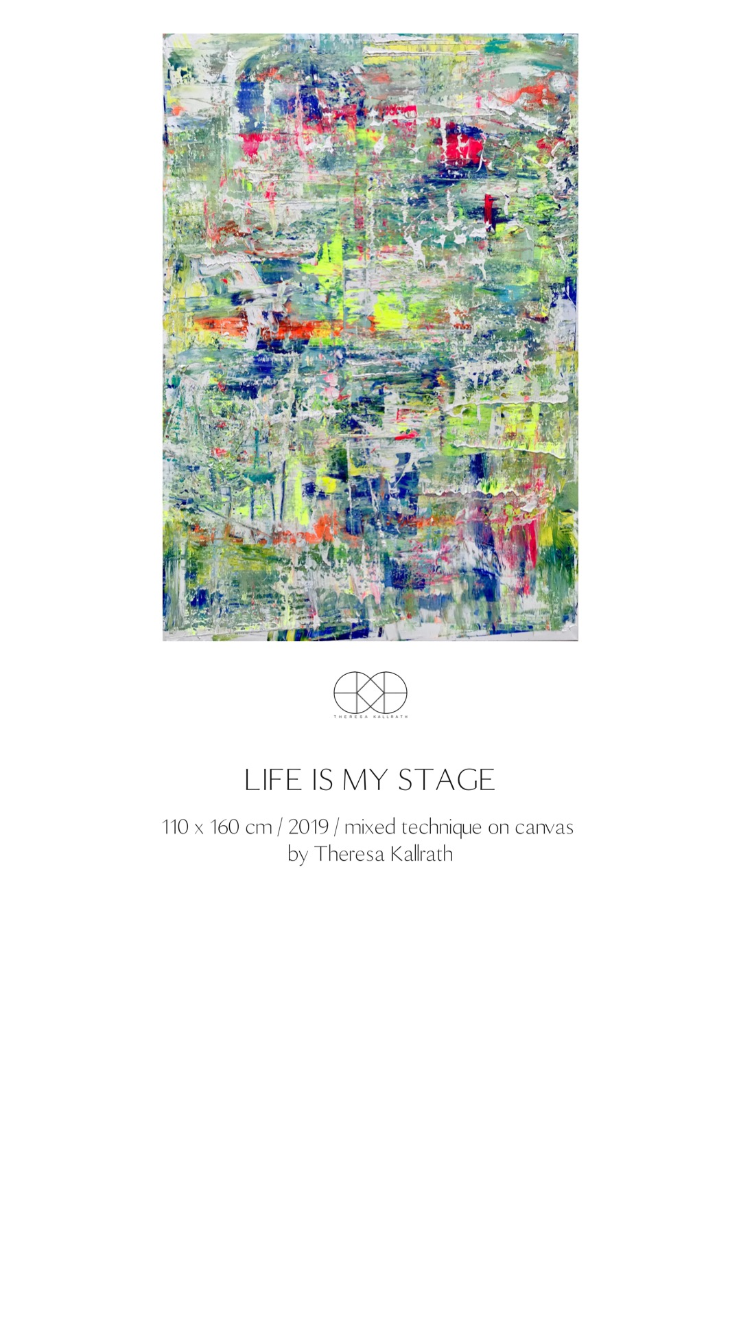 Theresa Kallrath_Life is my stage_2019