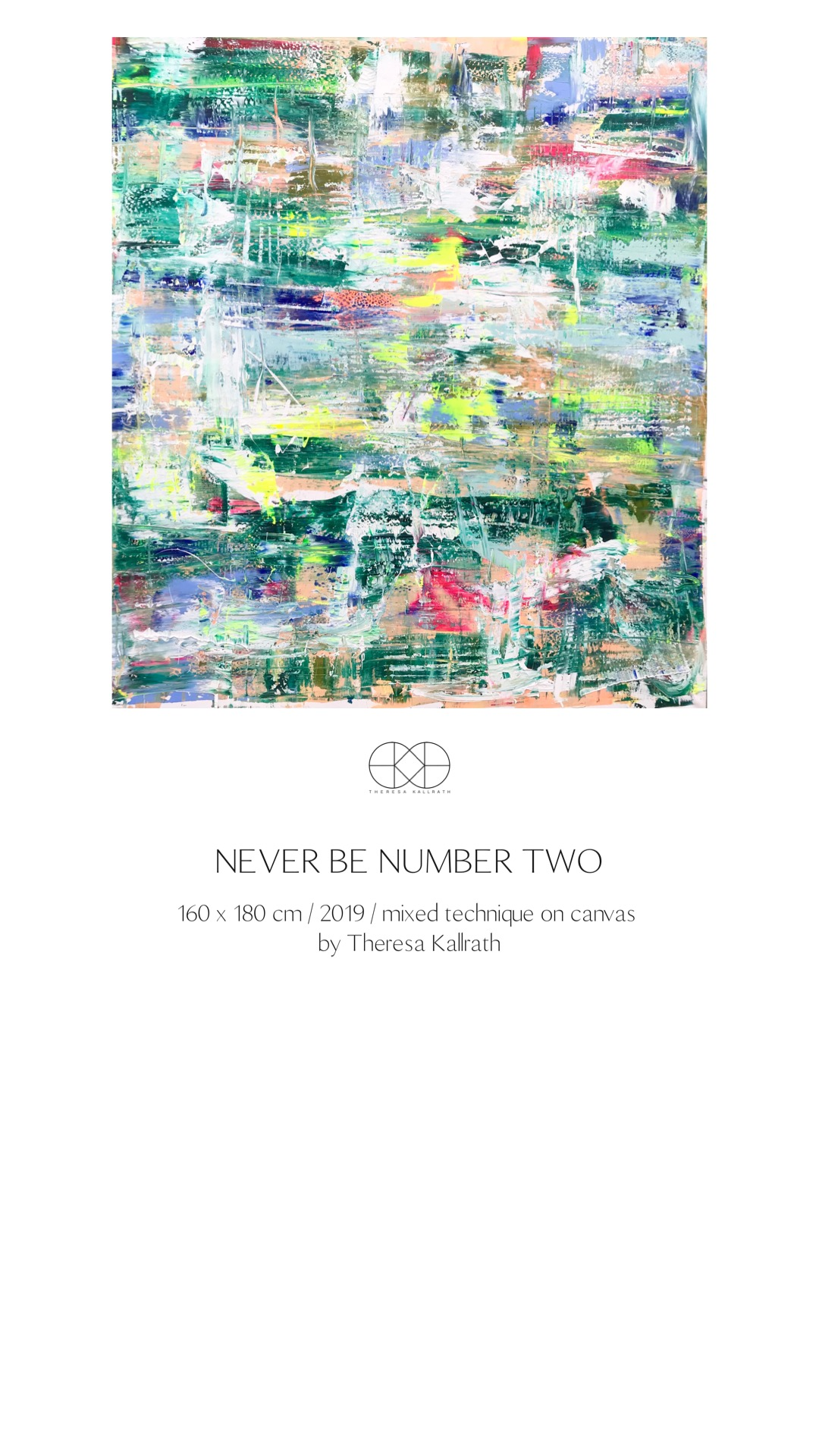 Theresa Kallrath_never be number two_2019