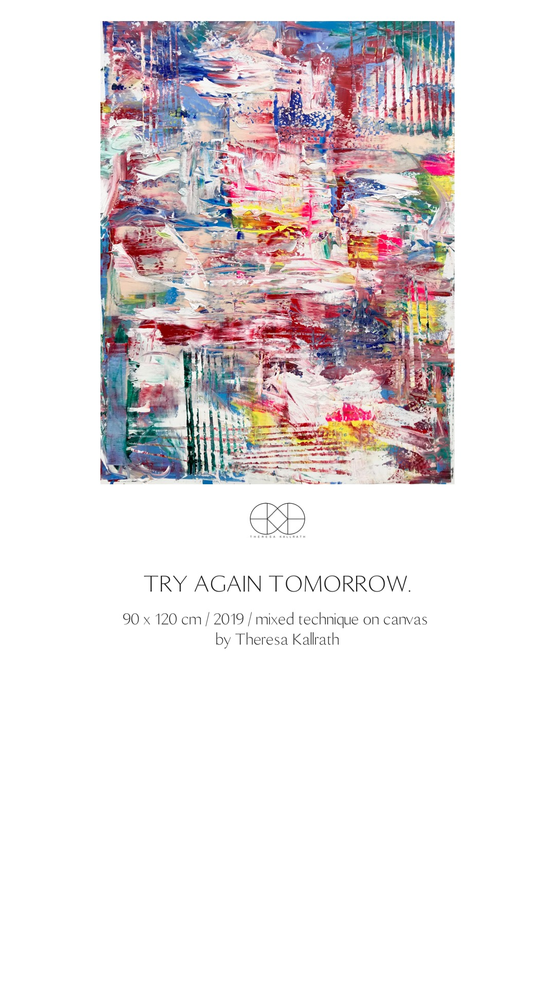 Theresa Kallrath_try again tomorrow_2019